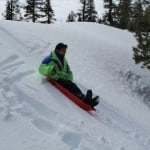 High Adventure for Scouts - sledding