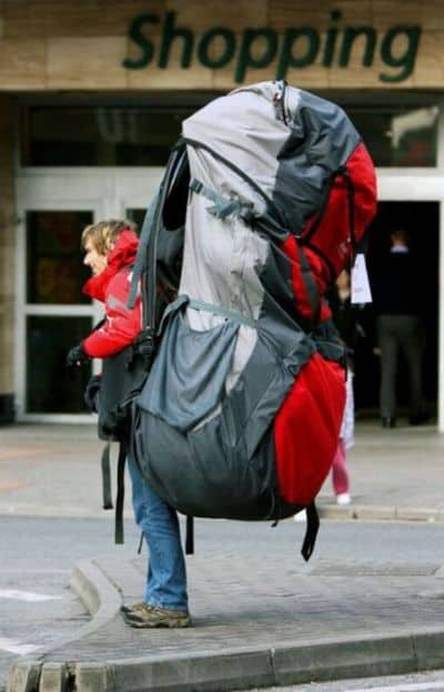 Big backpack for Philmont