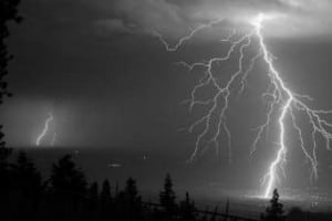 Lightening strikes are common - and dangerous
