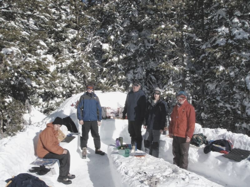 Backpackers Snow Kitchen