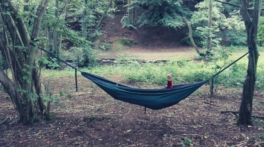 test the hammock weight